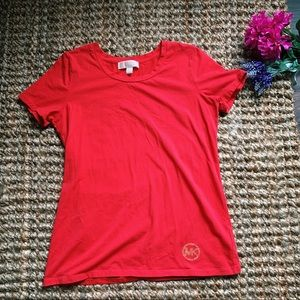 Michael Kors Size Small Red Top